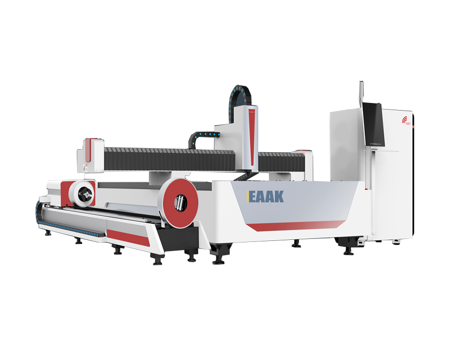 Laser cutting machine for sheet and tube